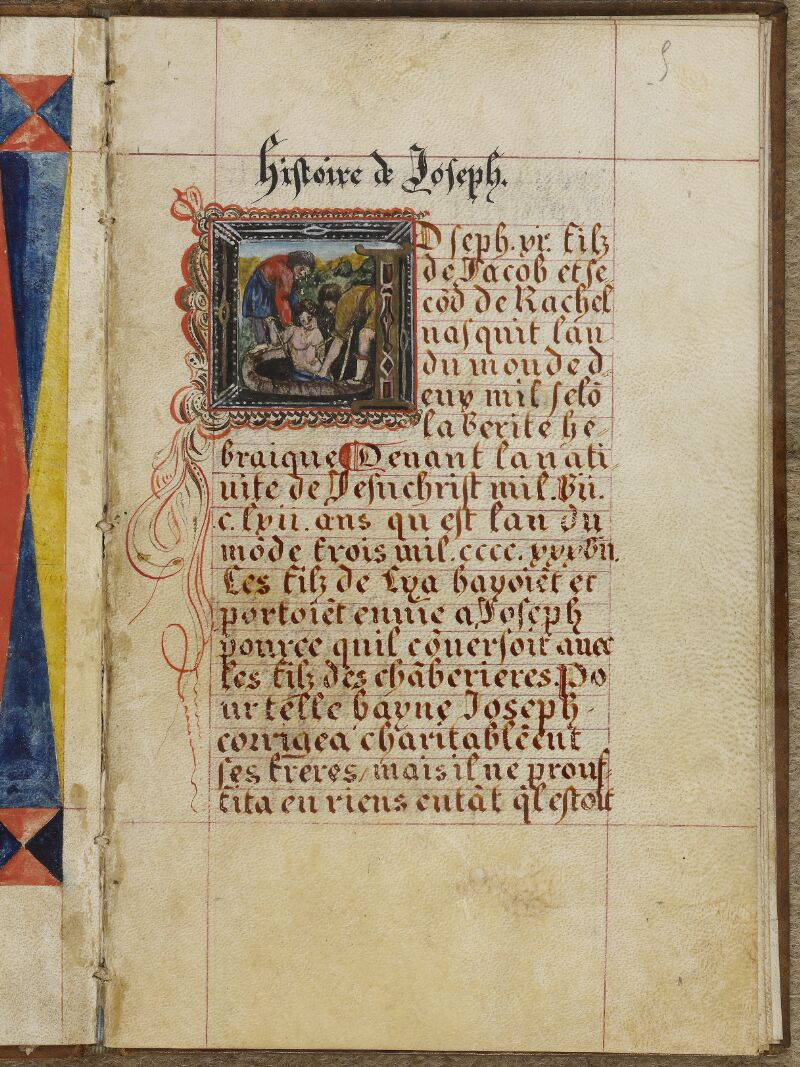 Caen, Musée, Coll. Mancel ms. 0258, f. 005