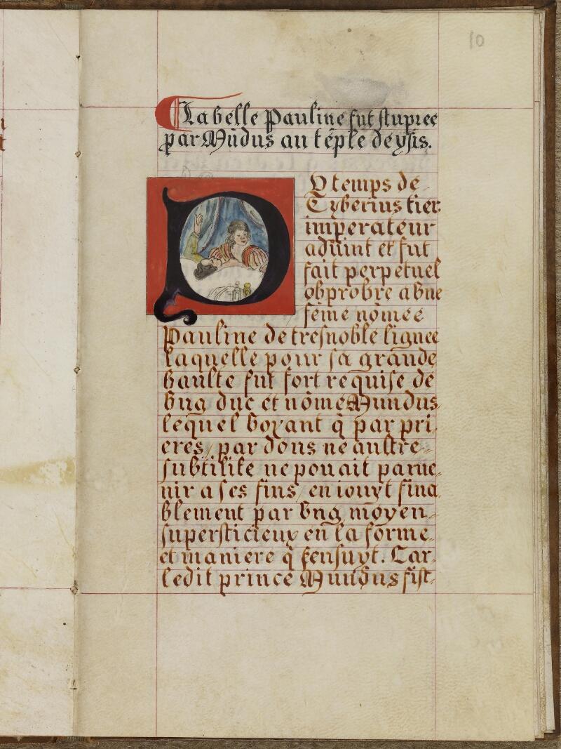 Caen, Musée, Coll. Mancel ms. 0258, f. 010