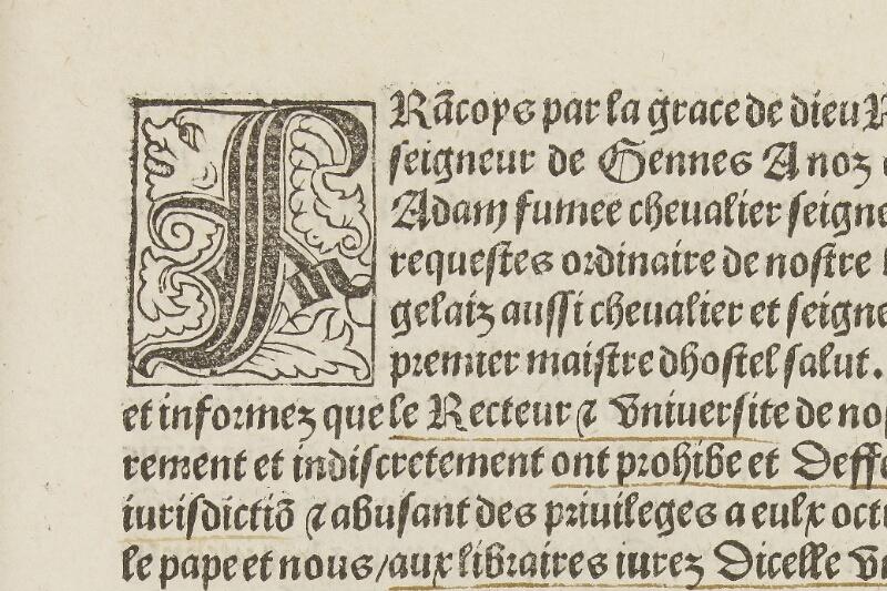 Caen, Musée, Coll. Mancel ms. 0068, f. 454 - vue 2
