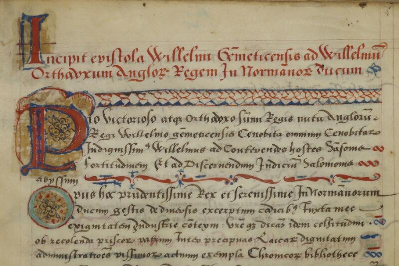 Caen, Musée, Coll. Mancel ms. 0145, f. 001 - vue 3