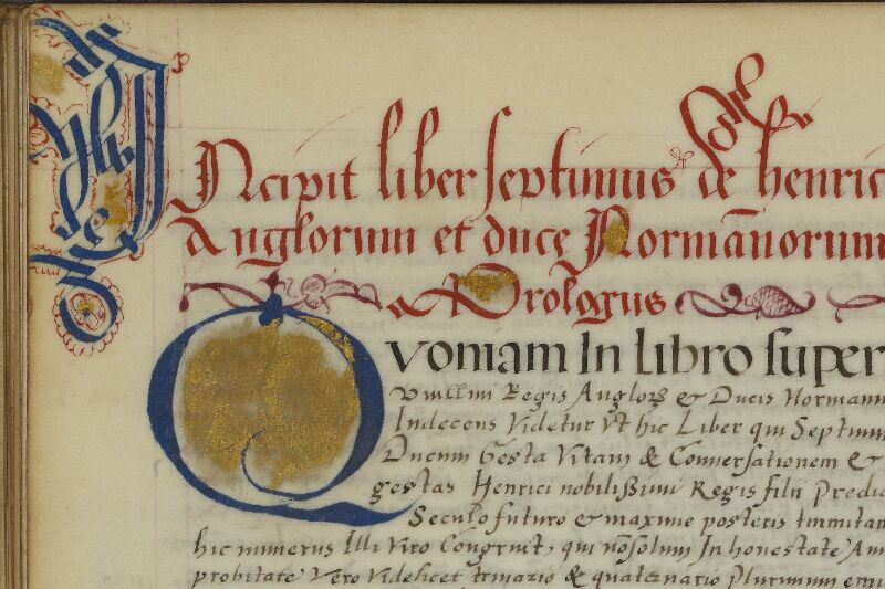 Caen, Musée, Coll. Mancel ms. 0145, f. 044v - vue 2
