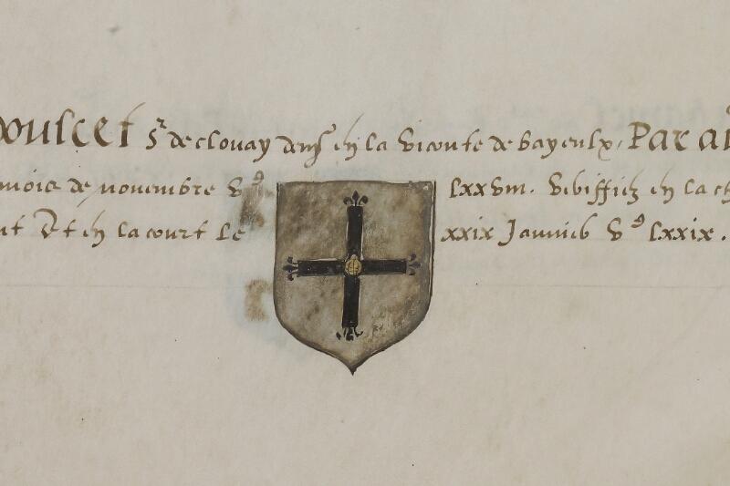 Caen, Musée, Coll. Mancel ms. 0156, f. 040 - vue 2