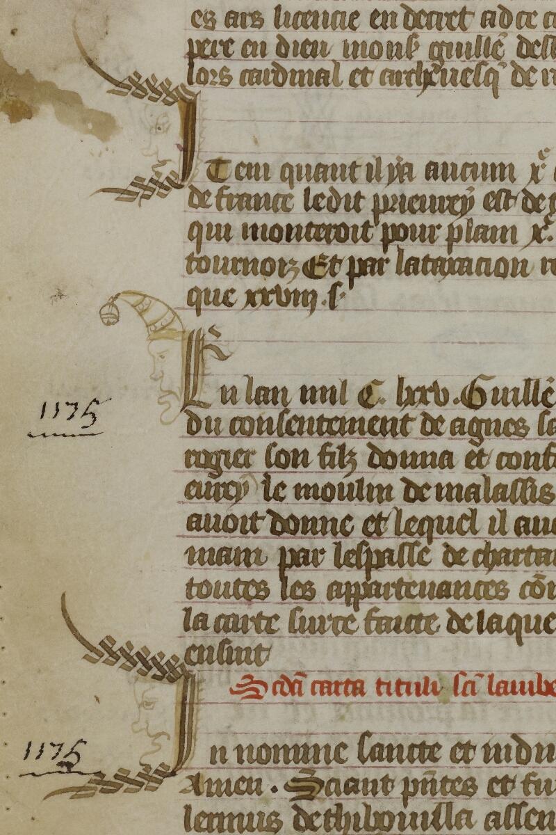Caen, Musée, Coll. Mancel ms. 0200, p. 020 - vue 2