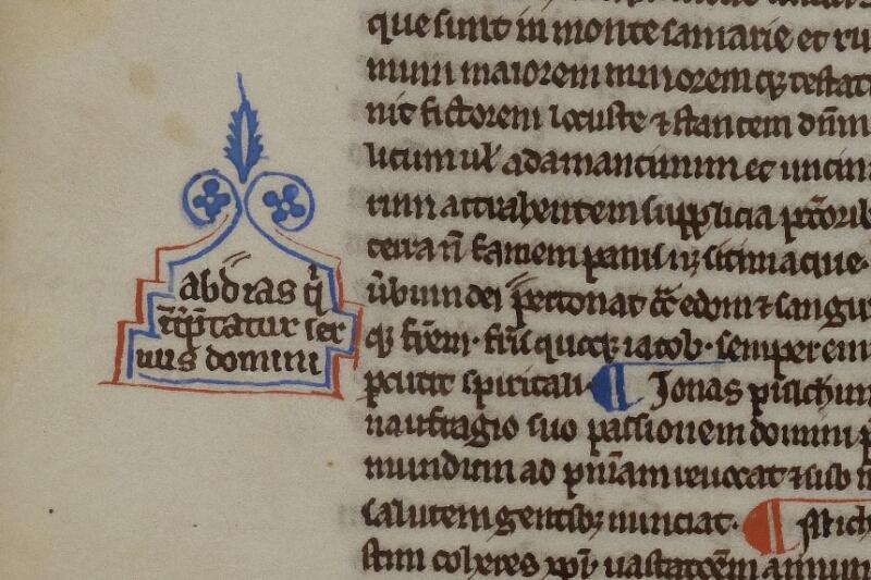Caen, Musée, Coll. Mancel ms. 0236, f. 002v - vue 2