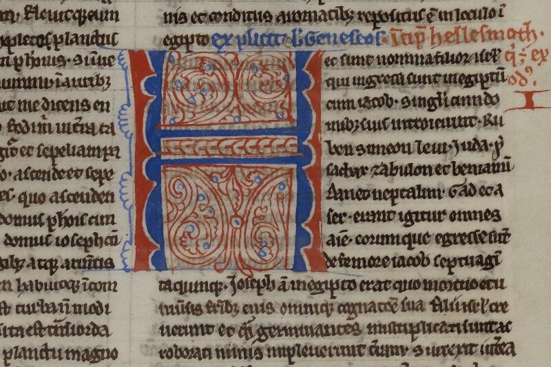 Caen, Musée, Coll. Mancel ms. 0236, f. 020v - vue 2