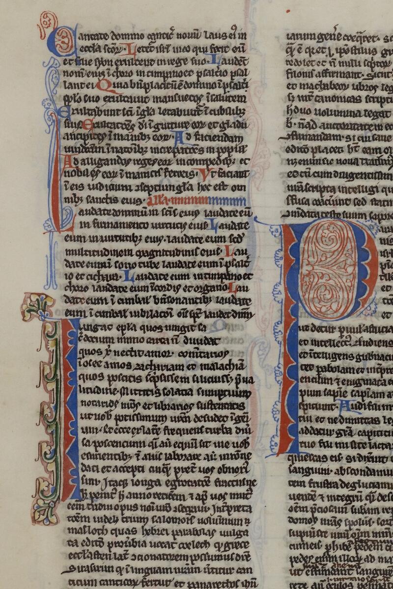 Caen, Musée, Coll. Mancel ms. 0236, f. 201v - vue 2
