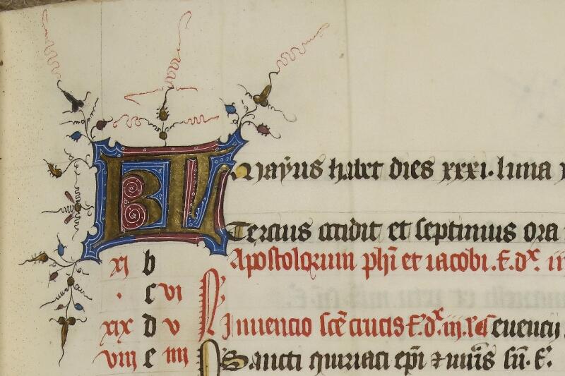 Caen, Musée, Coll. Mancel ms. 0237, f. 000V - vue 3