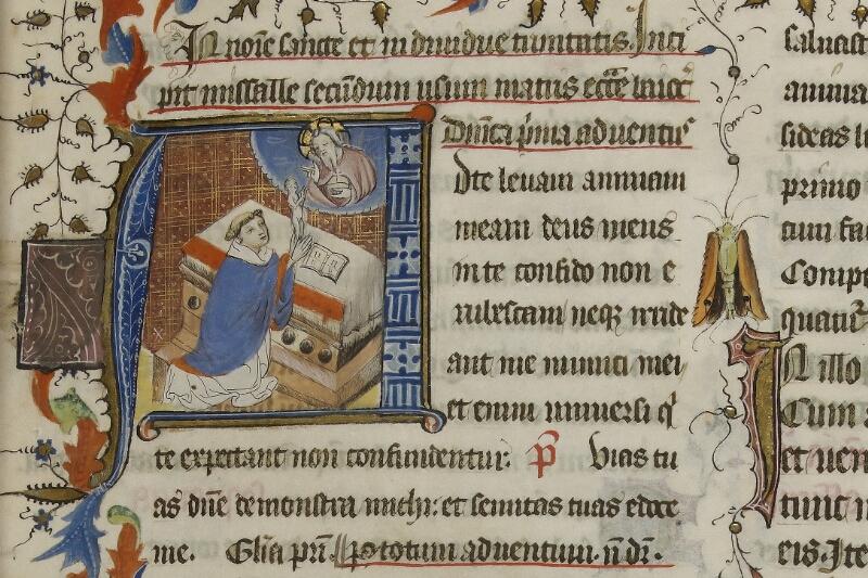 Caen, Musée, Coll. Mancel ms. 0237, f. 001 - vue 2