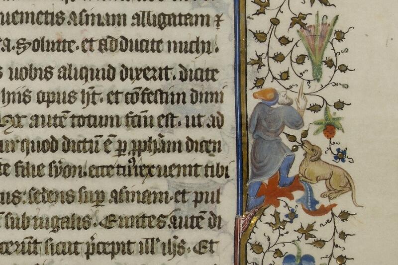 Caen, Musée, Coll. Mancel ms. 0237, f. 001 - vue 5