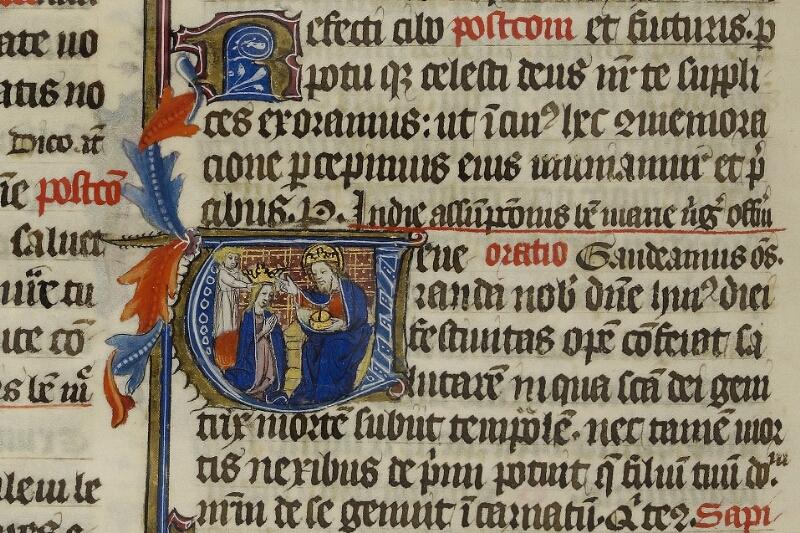 Caen, Musée, Coll. Mancel ms. 0237, f. 155v - vue 2