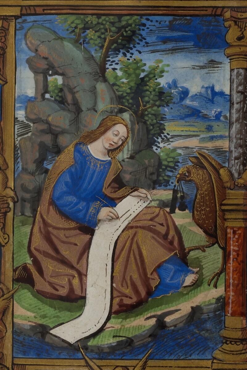 Caen, Musée, Coll. Mancel ms. 0238, f. 007v