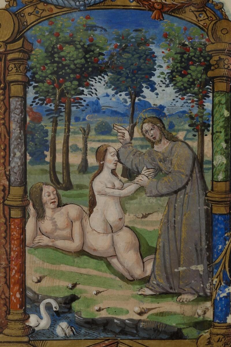Caen, Musée, Coll. Mancel ms. 0238, f. 019v