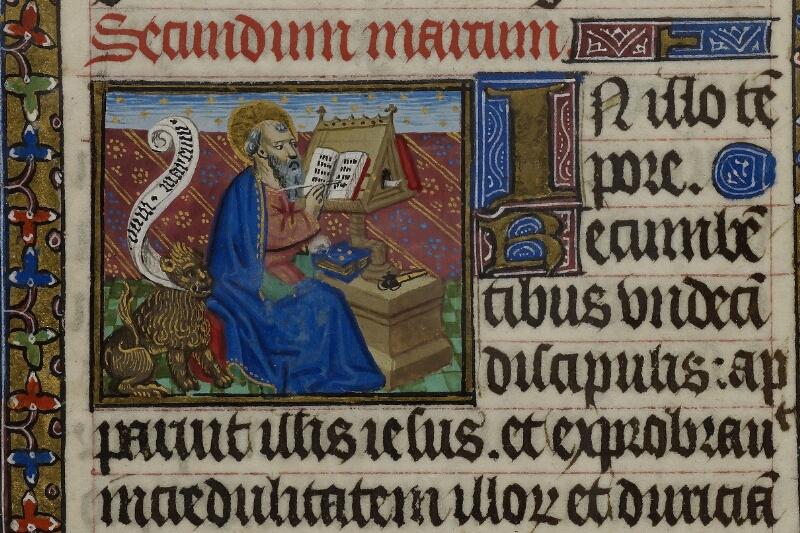 Caen, Musée, Coll. Mancel ms. 0239, f. 018v - vue 2