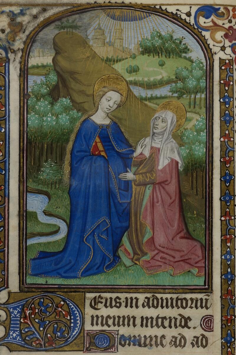 Caen, Musée, Coll. Mancel ms. 0239, f. 037v - vue 2