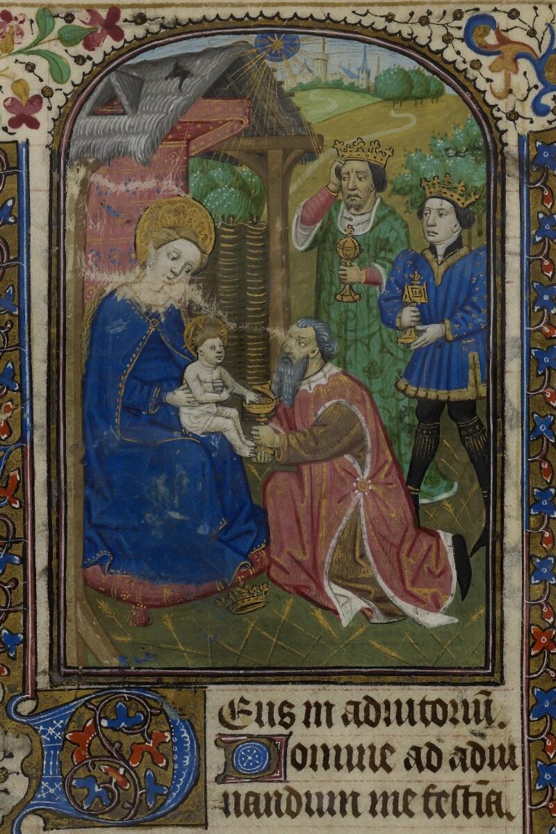 Caen, Musée, Coll. Mancel ms. 0239, f. 056v - vue 2