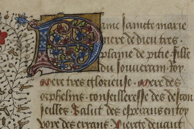 Caen, Musée, Coll. Mancel ms. 0239, f. 134v - vue 2