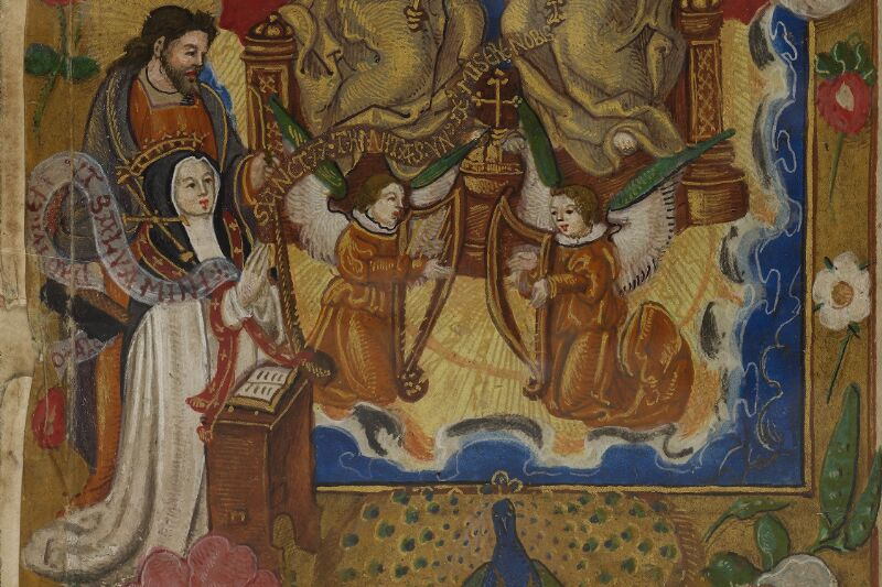 Caen, Musée, Coll. Mancel ms. 0242, f. 000Av - vue 4