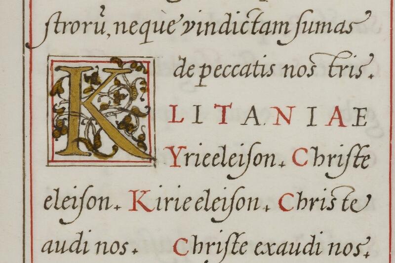 Caen, Musée, Coll. Mancel ms. 0244, f. 012 - vue 2