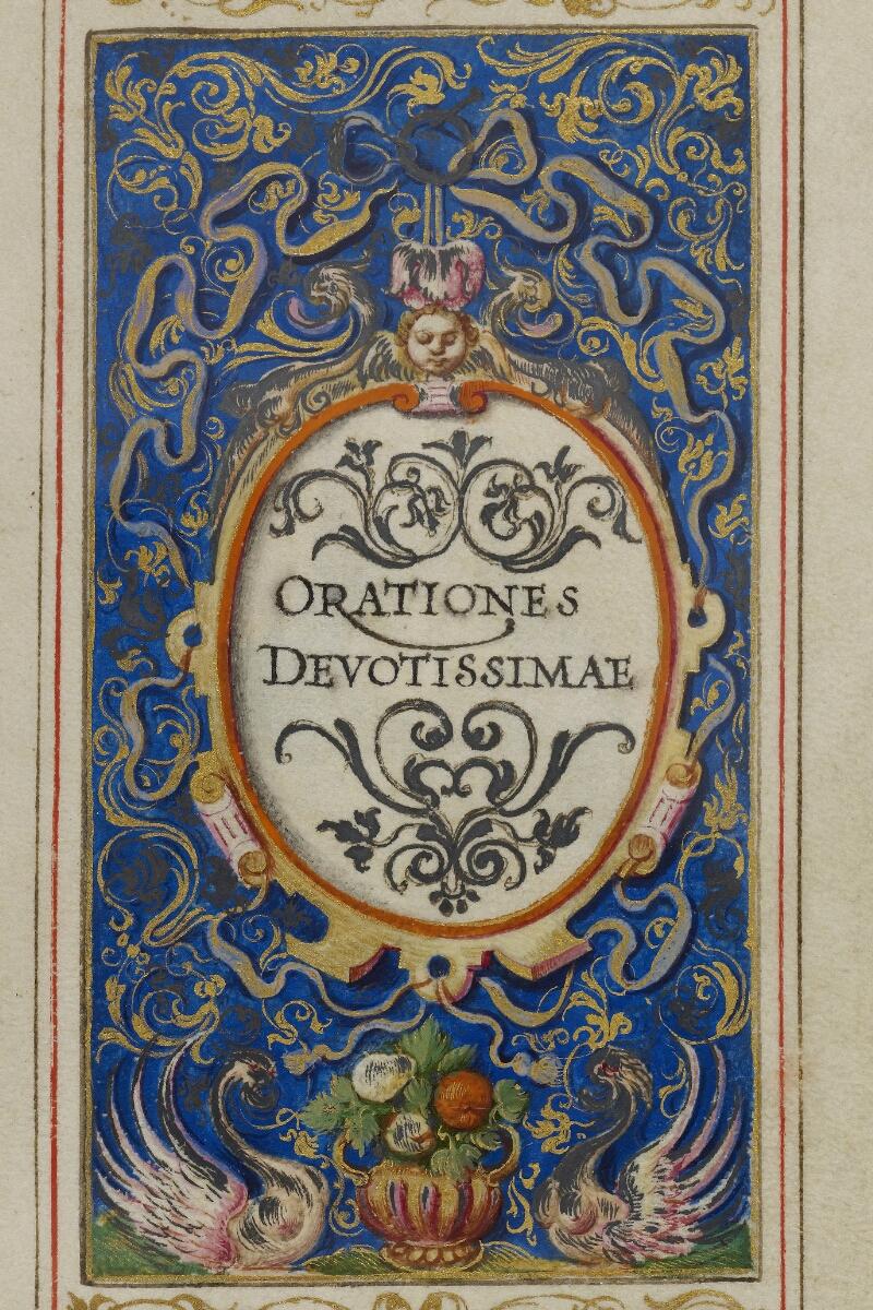 Caen, Musée, Coll. Mancel ms. 0244, f. 022 - vue 2