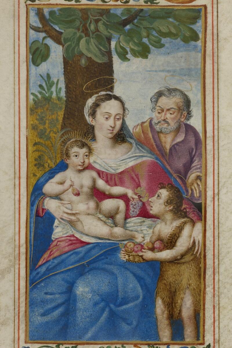 Caen, Musée, Coll. Mancel ms. 0244, f. 057v - vue 2