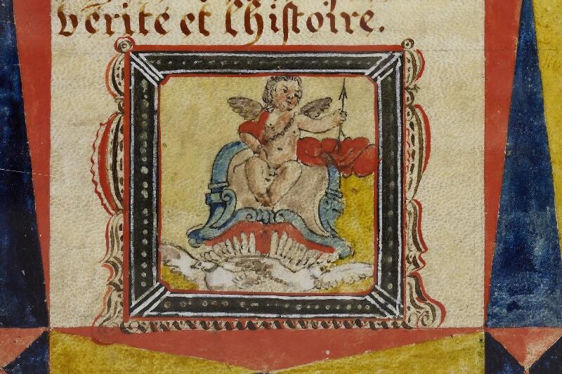 Caen, Musée, Coll. Mancel ms. 0258, f. 004v - vue 2