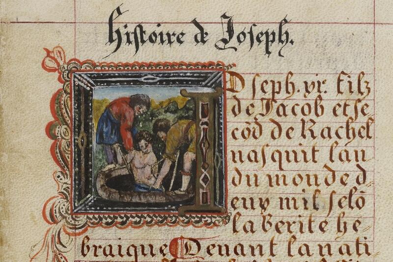 Caen, Musée, Coll. Mancel ms. 0258, f. 005 - vue 2