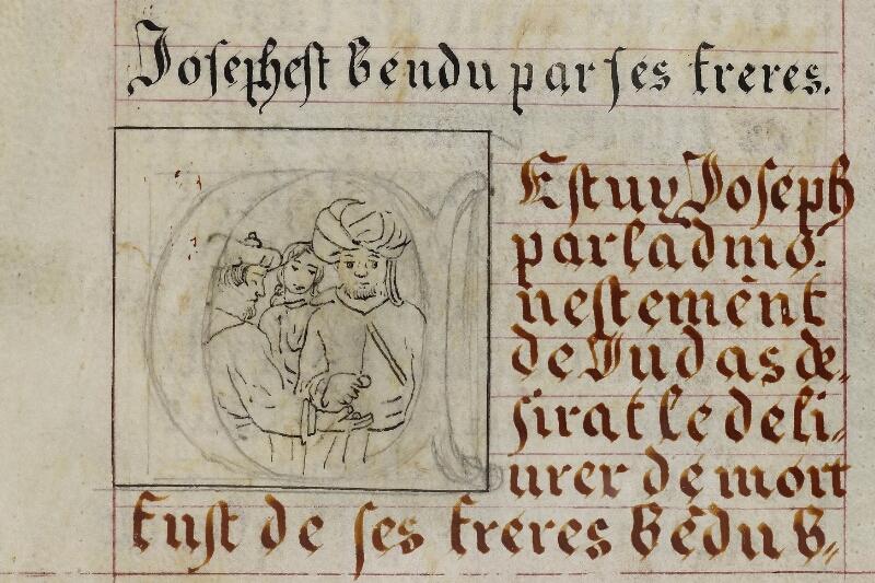 Caen, Musée, Coll. Mancel ms. 0258, f. 005v - vue 2