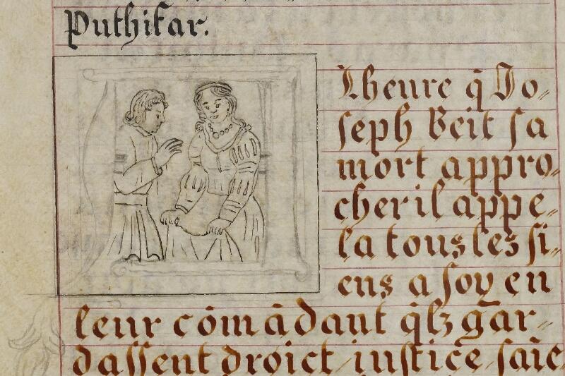 Caen, Musée, Coll. Mancel ms. 0258, f. 006v - vue 2