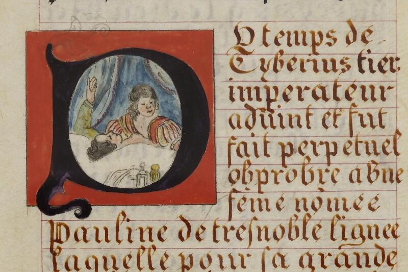 Caen, Musée, Coll. Mancel ms. 0258, f. 010 - vue 2