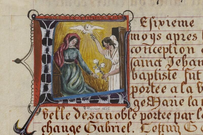Caen, Musée, Coll. Mancel ms. 0258, f. 013 - vue 2