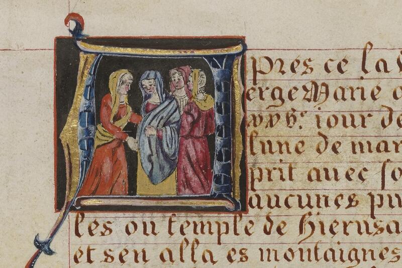 Caen, Musée, Coll. Mancel ms. 0258, f. 014 - vue 2