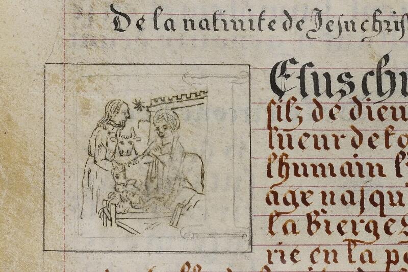 Caen, Musée, Coll. Mancel ms. 0258, f. 015 - vue 2