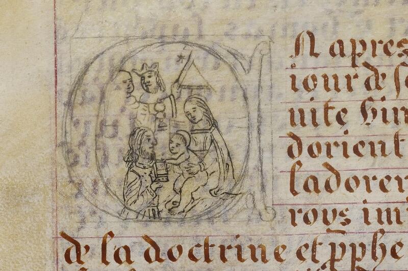 Caen, Musée, Coll. Mancel ms. 0258, f. 016 - vue 2