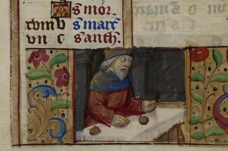 Caen, Musée, Coll. Mancel ms. 0240, f. 001 - vue 4