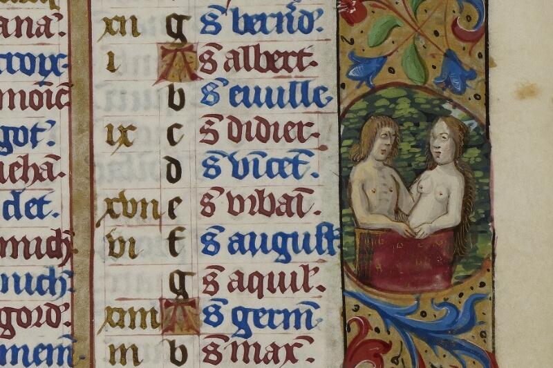 Caen, Musée, Coll. Mancel ms. 0240, f. 003 - vue 2