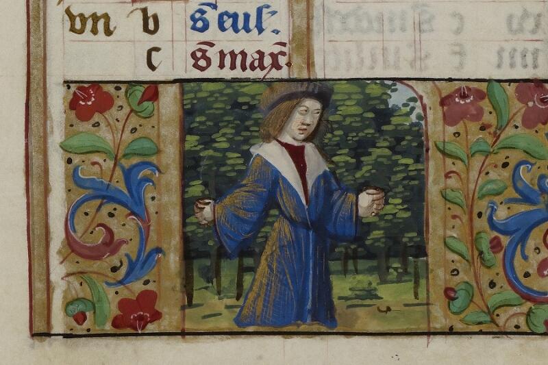 Caen, Musée, Coll. Mancel ms. 0240, f. 003 - vue 3