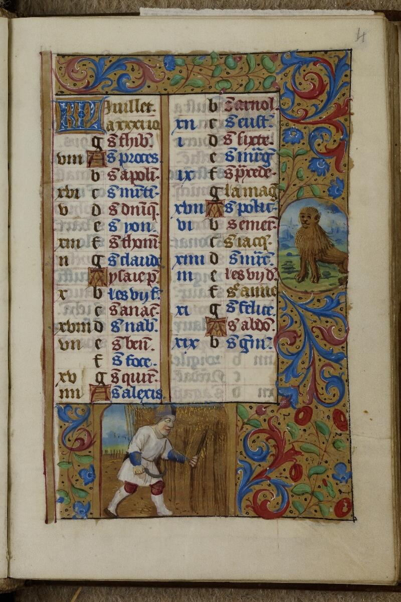 Caen, Musée, Coll. Mancel ms. 0240, f. 004 - vue 1