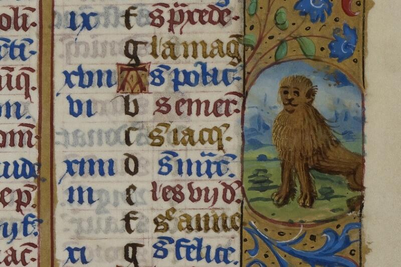 Caen, Musée, Coll. Mancel ms. 0240, f. 004 - vue 2