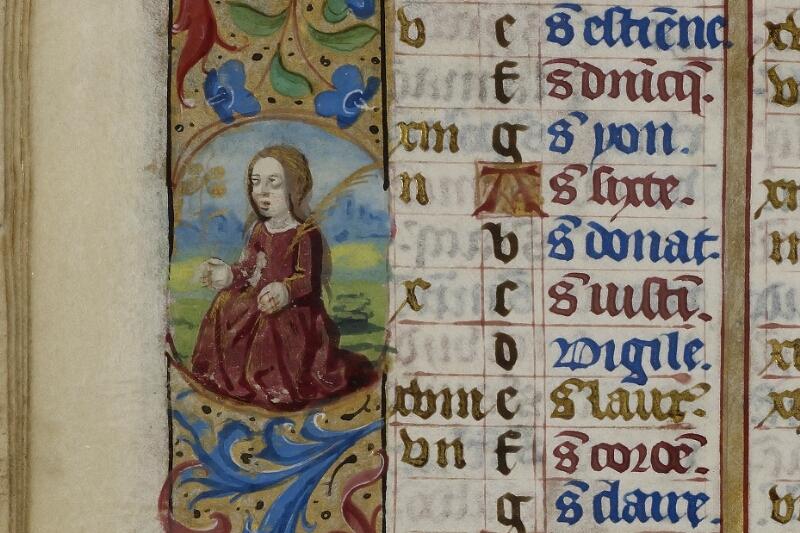 Caen, Musée, Coll. Mancel ms. 0240, f. 004v - vue 2
