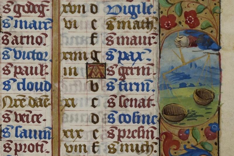 Caen, Musée, Coll. Mancel ms. 0240, f. 005 - vue 2