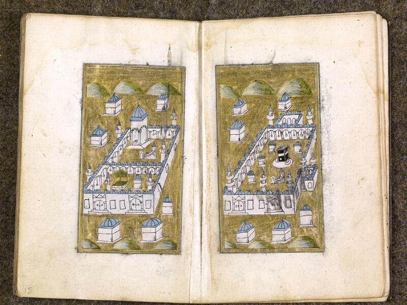 CHANTILLY, Bibliothèque du château, Bernier-I-D-013, f. 014v - 015
