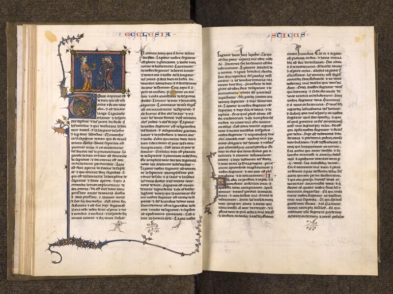 CHANTILLY, Bibliothèque du château, 0005 (1045 bis), f. 031v - 032