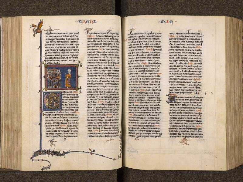 CHANTILLY, Bibliothèque du château, 0005 (1045 bis), f. 127v - 128