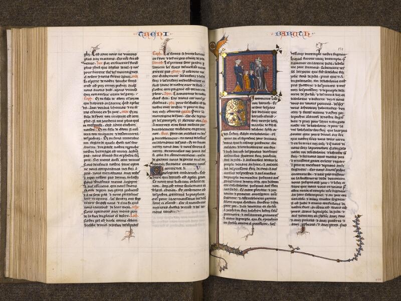 CHANTILLY, Bibliothèque du château, 0005 (1045 bis), f. 130v - 131