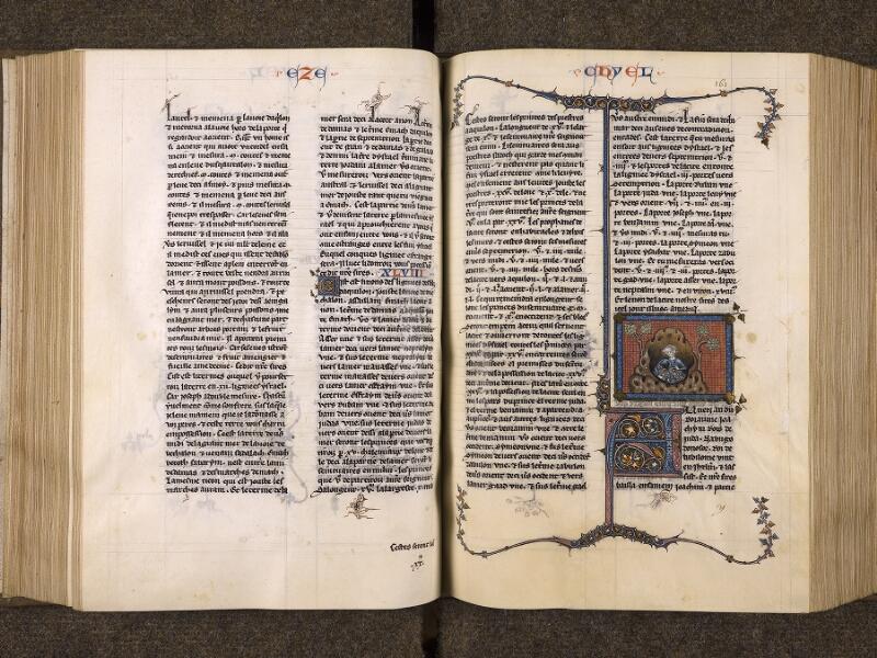 CHANTILLY, Bibliothèque du château, 0005 (1045 bis), f. 160v - 161