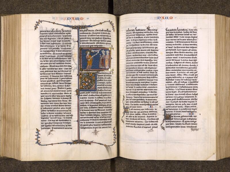 CHANTILLY, Bibliothèque du château, 0005 (1045 bis), f. 186v - 187