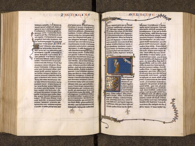 CHANTILLY, Bibliothèque du château, 0005 (1045 bis), f. 195v - 196