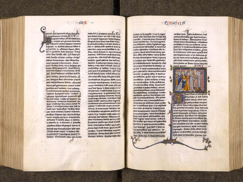CHANTILLY, Bibliothèque du château, 0005 (1045 bis), f. 244v - 245