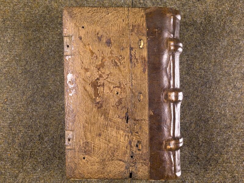 CHANTILLY, Bibliothèque du château, 0007 (1345), plat inférieur