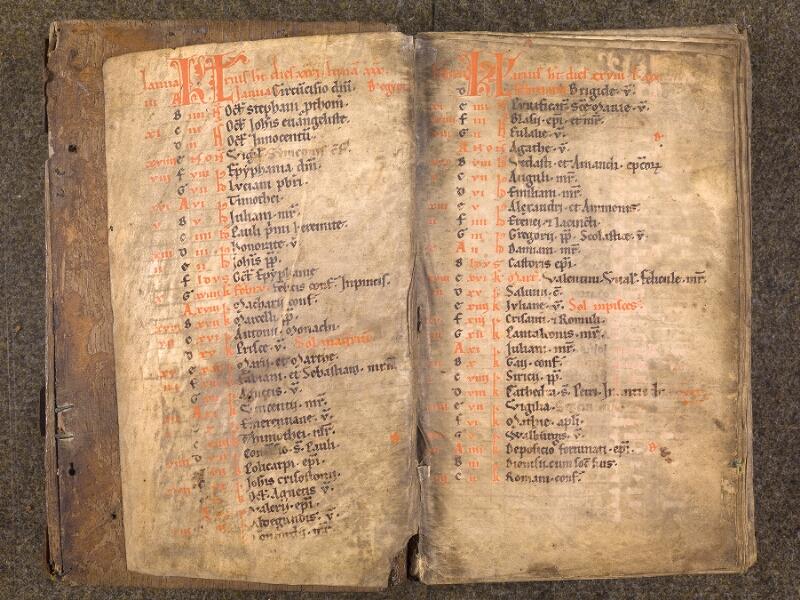 CHANTILLY, Bibliothèque du château, 0007 (1345), contregarde - f. 001v